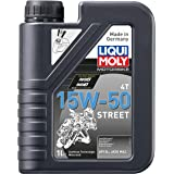 Liqui Moly 20060 Motorbike 4T 15W-50 Street Engine Oil - 4 Liter