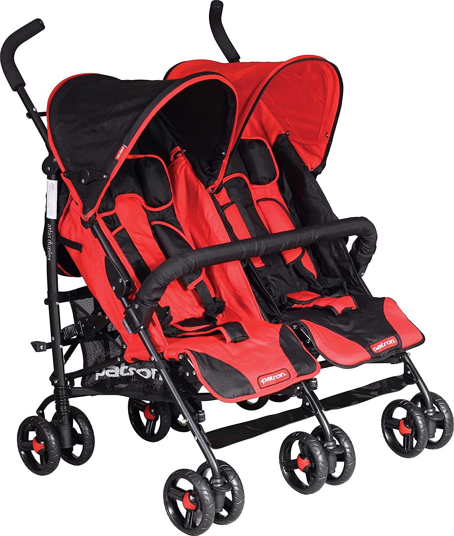 rouge rubis Patron g1463y90yaax4964b Atlas Duplex Poussette pour jumeaux
