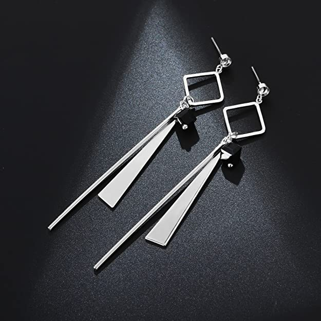 Yanxyad Dangle Drop Earrings For Sensitive Ears By Elegant Jewelry