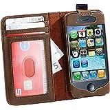Étui de protection aspect livre ancien pour iPhone 4/4S