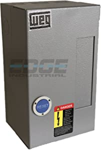WEG 10HP 3 PHASE 40 AMP MAGNETIC STARTER FOR ELECTRIC MOTOR AIR COMRPESSOR 10HP THREE PHASE 208-240VAC