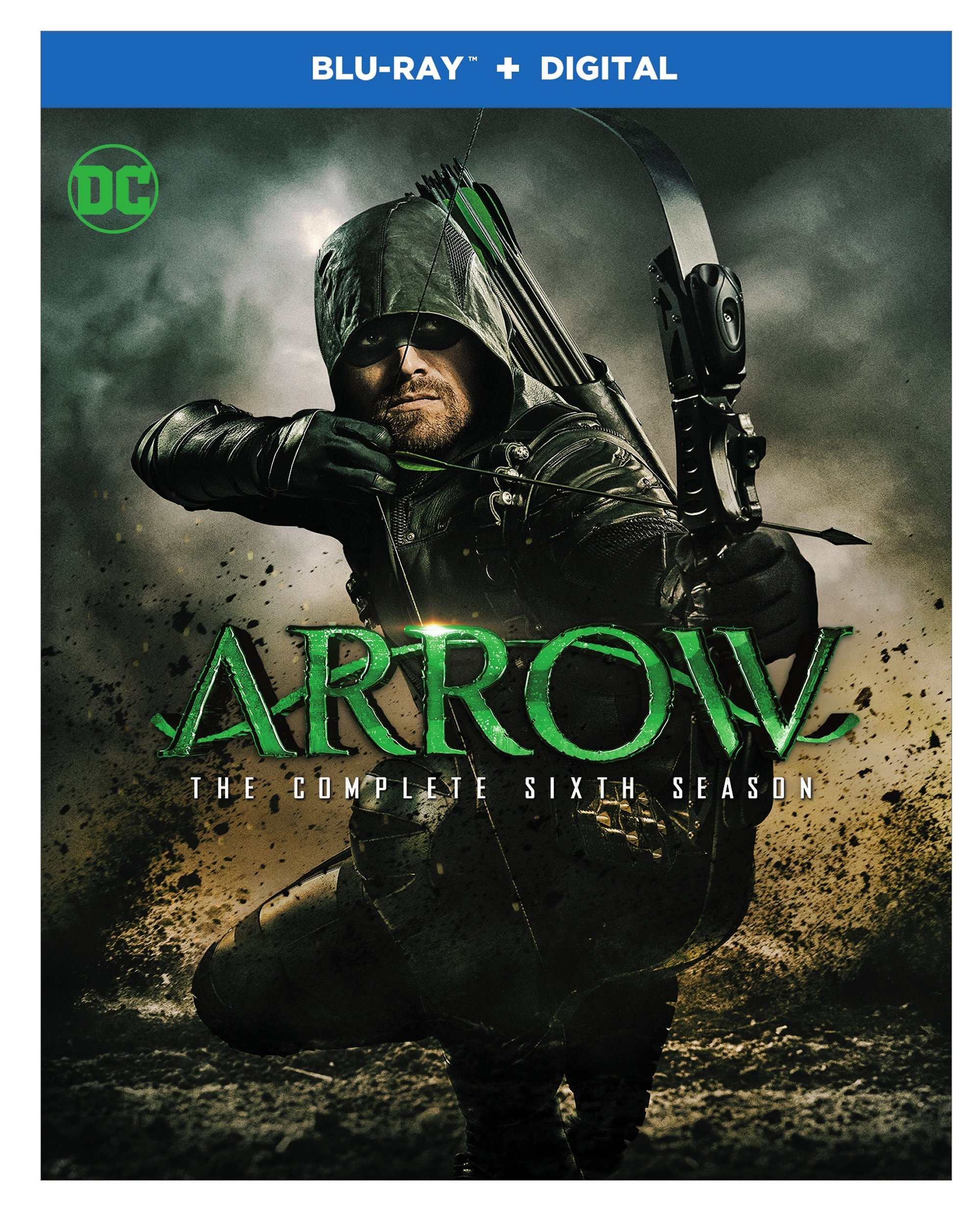 Blu-ray : Arrow: The Complete Sixth Season (dc) (Boxed Set, 4PC)