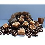 Caramel Fudge Twist Flavoured Decaffeinated Coffee (Beans, 100g)
