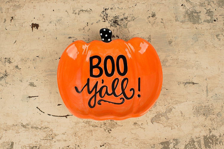 Glory Haus Boo Y All Pumpkin Decorative Dish
