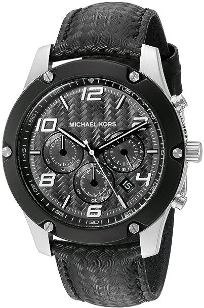 Amazon.com: Michael Kors Mens Caine Silver-Tone Watch MK8488: Michael Kors: Watches