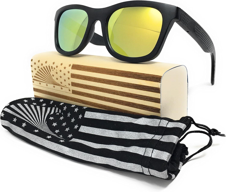 Loudmouth Patriot Hombres Patriota Sombras gafas de sol Wayfarer ...