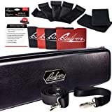 Quiver Time Black Collector Card Carrying Case - Card/Deck Storage Case with Wrist and Shoulder Strap, Dividers & Separators,
