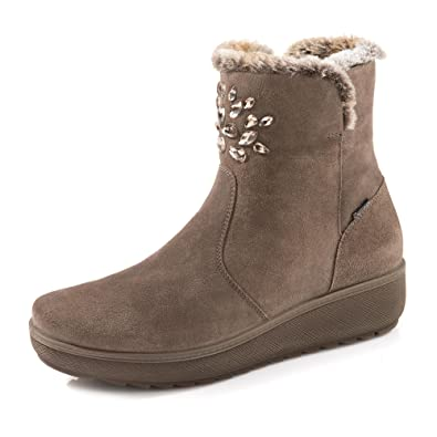 Kira Damen Boots 8818200 Tex Aus Veloursleder amp;co Gore Igi yvb6gYf7