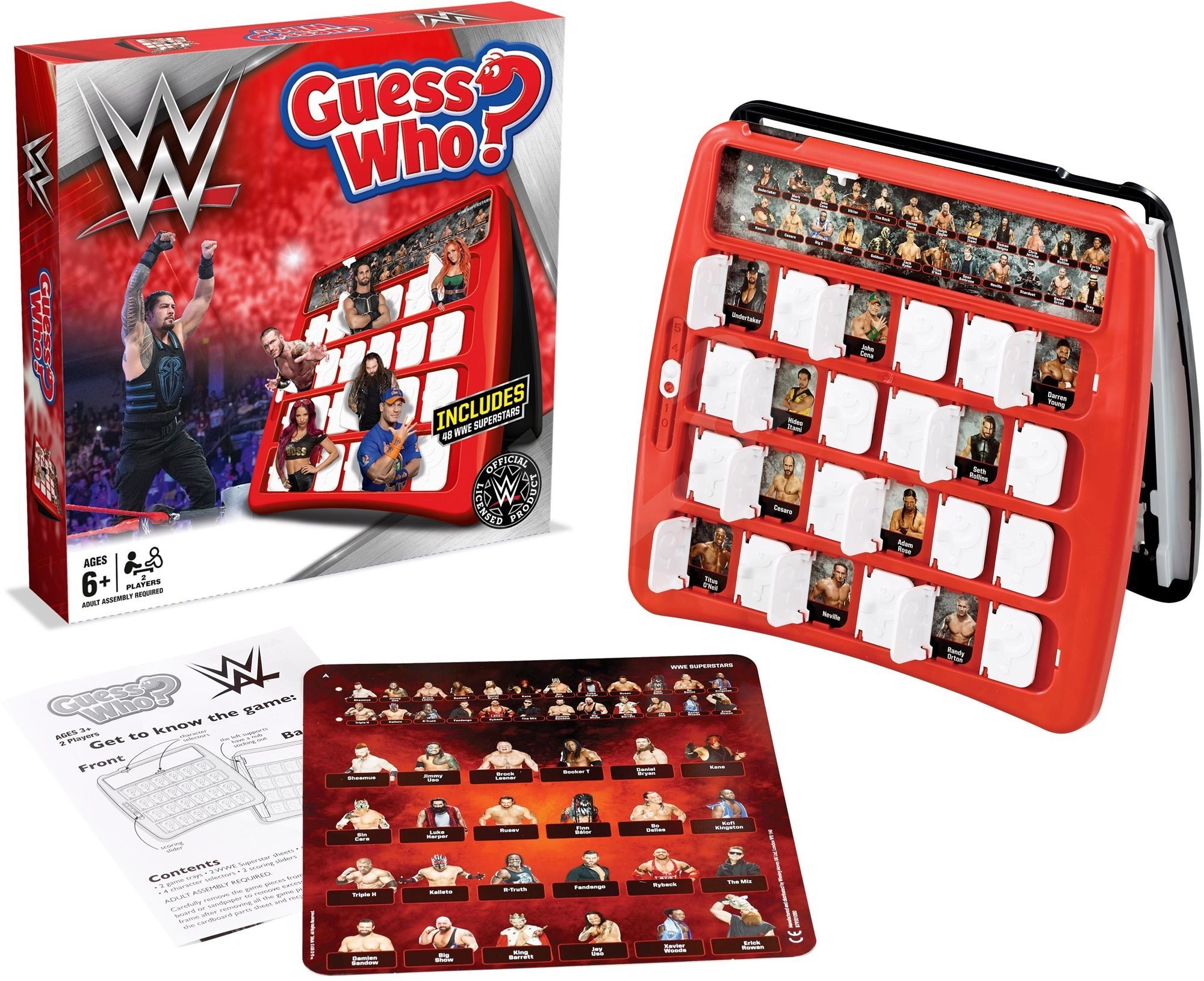 WWE Guess Who Game