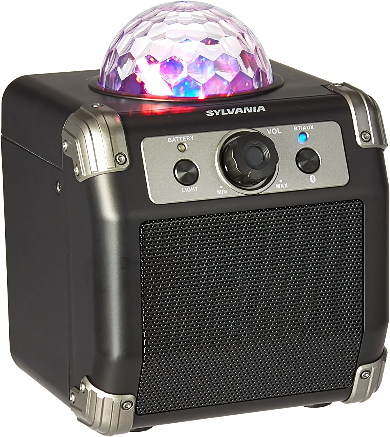 Sylvania Bluetooth Speaker with Disco Ball Top