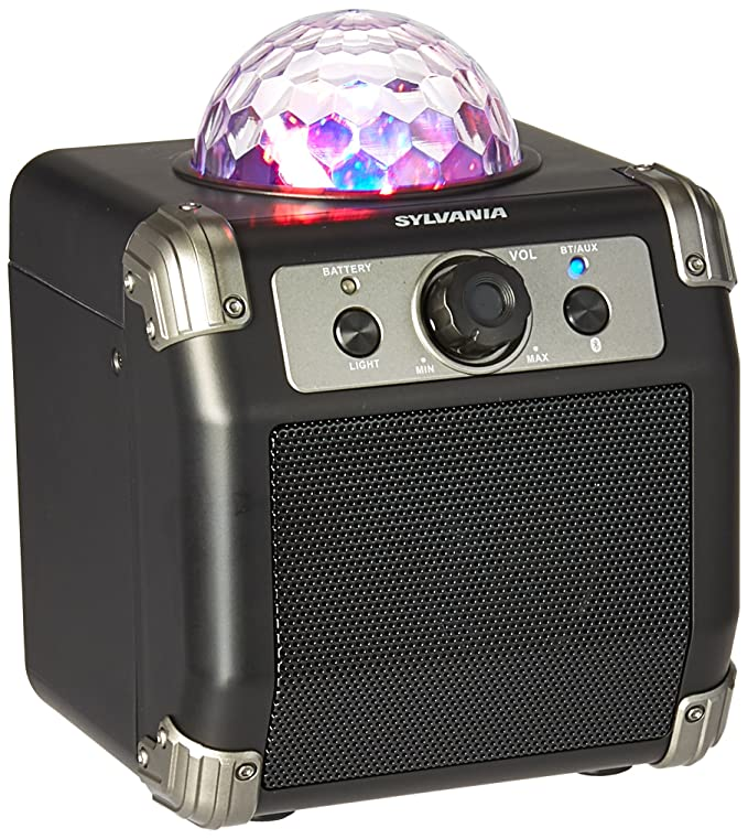 Review Sylvania Bluetooth Speaker with
