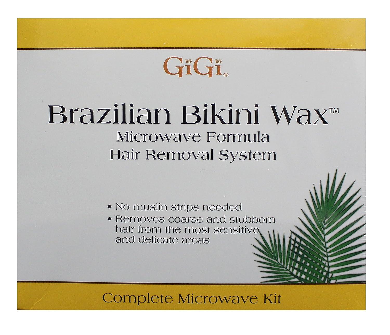 GiGi Brazilian Bikini Wax Microwave Kit GG911 Shaving & Hair Removal bikini waxing brazilian waxing