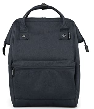 1422fd8152ba Amazon.com  Himawari Travel Backpack Laptop Backpack Large Diaper Bag  Doctor Bag Backpack School Backpack for Women Men (H2261-L Navy Blue)   Himawari ...