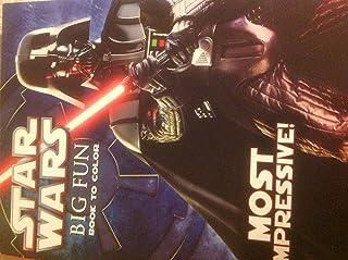 Star Wars 96pagine da colorare e libro di attività–most impressive'