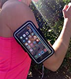 Fullblam Vagavo Racer Series Premium 5.5 Armband Pouch with Scratch-resistant Material, Slim Lightweight, Dual Arm-Size Slots fro iPhone 6 Plus