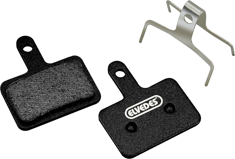 M51 Brake Pads for Cycle//MTB//E-Bike//Mountain Bike//Road Adult Unisex Standard M415-M495 Black Elvedes BR-M375