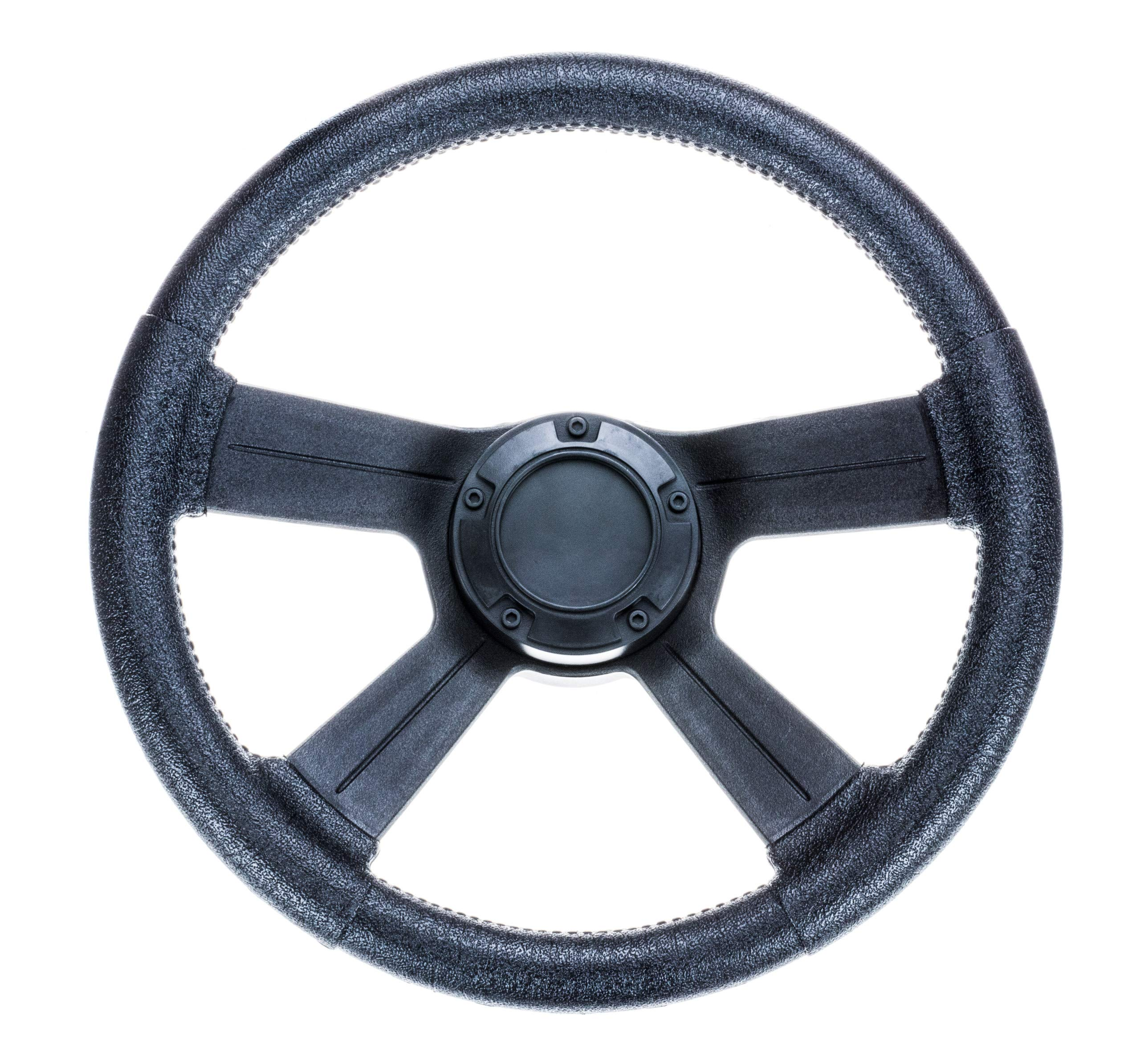 attwood 8315-4 Weatherproof 13-Inch Marine Boat Soft-Grip Steering Wheel with Cap by attwood
