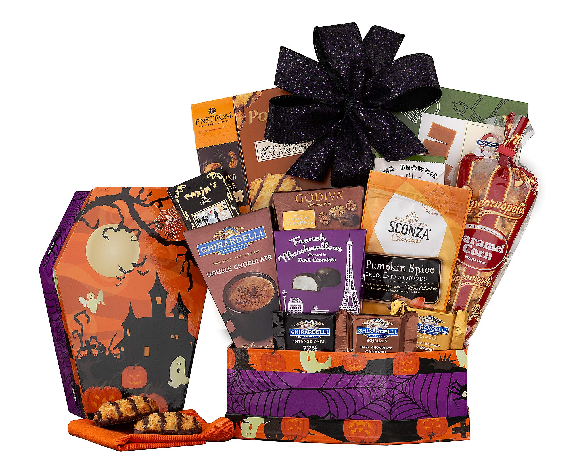 Wine Country Gift Baskets Halloween Chocolate and Sweets Gift For Ghosts and Ghouls of all Ages by Wine Country Gift Baskets