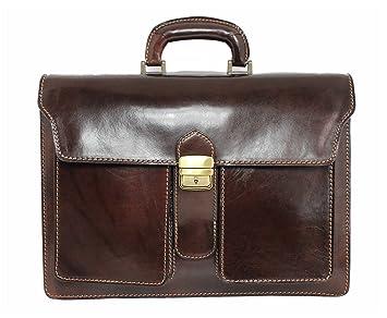 Business Aktentasche mit Laptopfach Schultertasche Dokumententasche Herrentasche