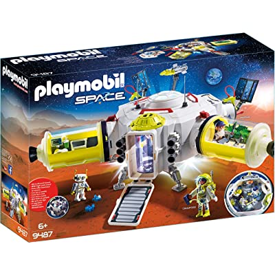 PLAYMOBIL Mars Space Station: Toys & Games