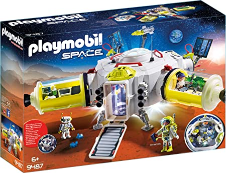 Diversión para los pequeños astronautas: PLAYMOBIL Space Estación de Marte con numerosas figuras y a