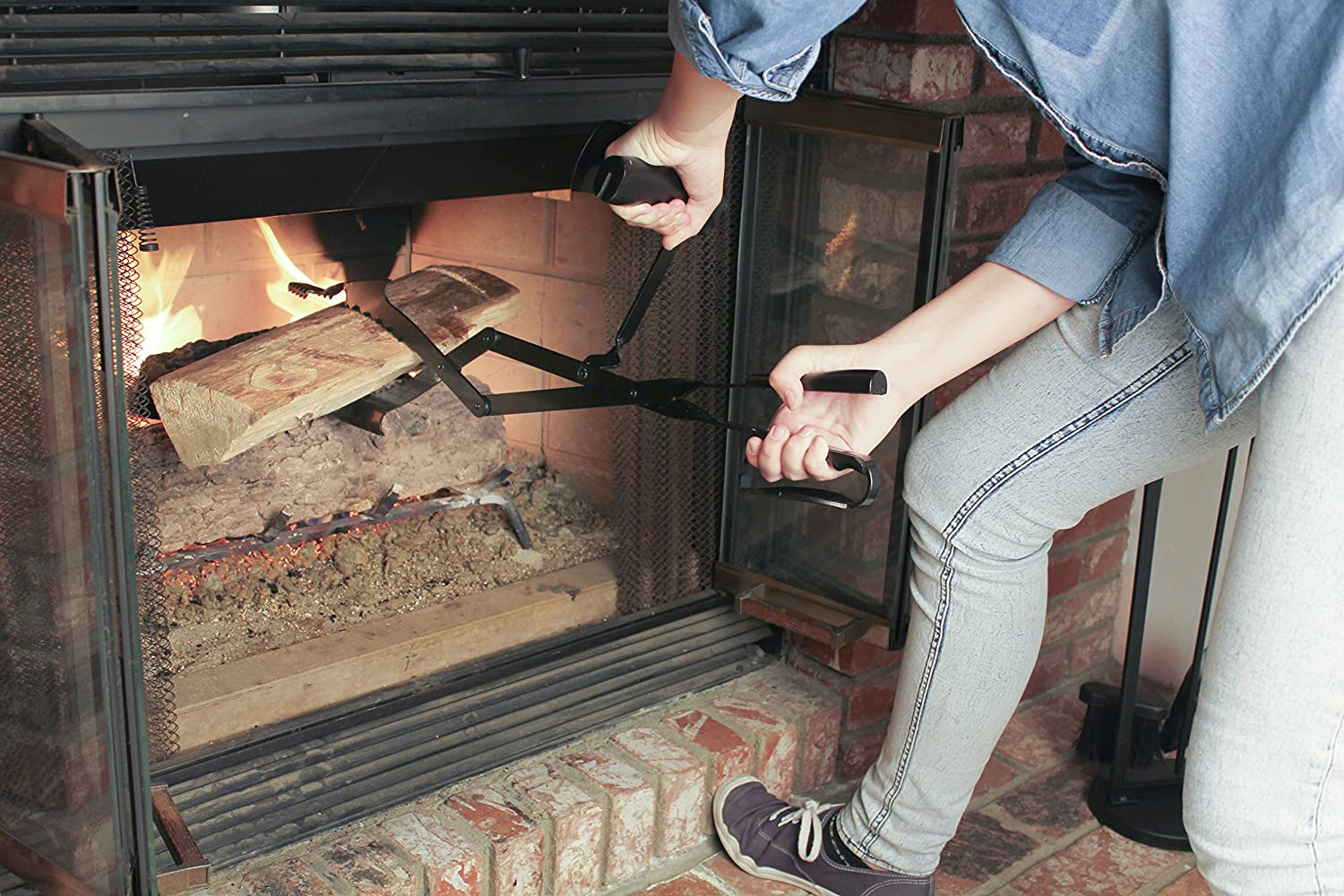 amazon com grill daddy king tong pro for fire pits or fireplace