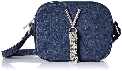 2d02a9a13 Valentino by Mario Valentino Womens Divina Cross-Body Bag Blue (Blu ...