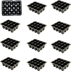 Pack of 12 Seed Planters, Seed Starter Cells