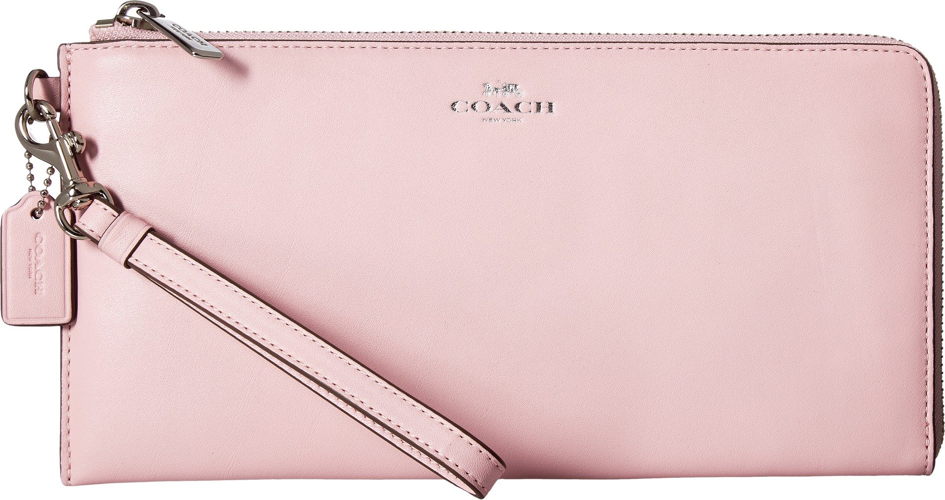 COACH Women's Darcy Leather Holdall Wallet Petal Wallets