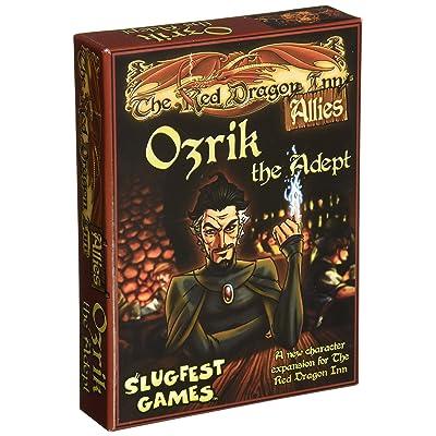 Slugfest Games Red Dragon Inn: Allies - Ozrik The Adept (Red Dragon Inn Expansion) Board Game: Slugfest Games: Toys & Games