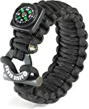 AegisGears Paracord Bracelet X-Series with 19 Piece Outdoor Survival Gear Kit