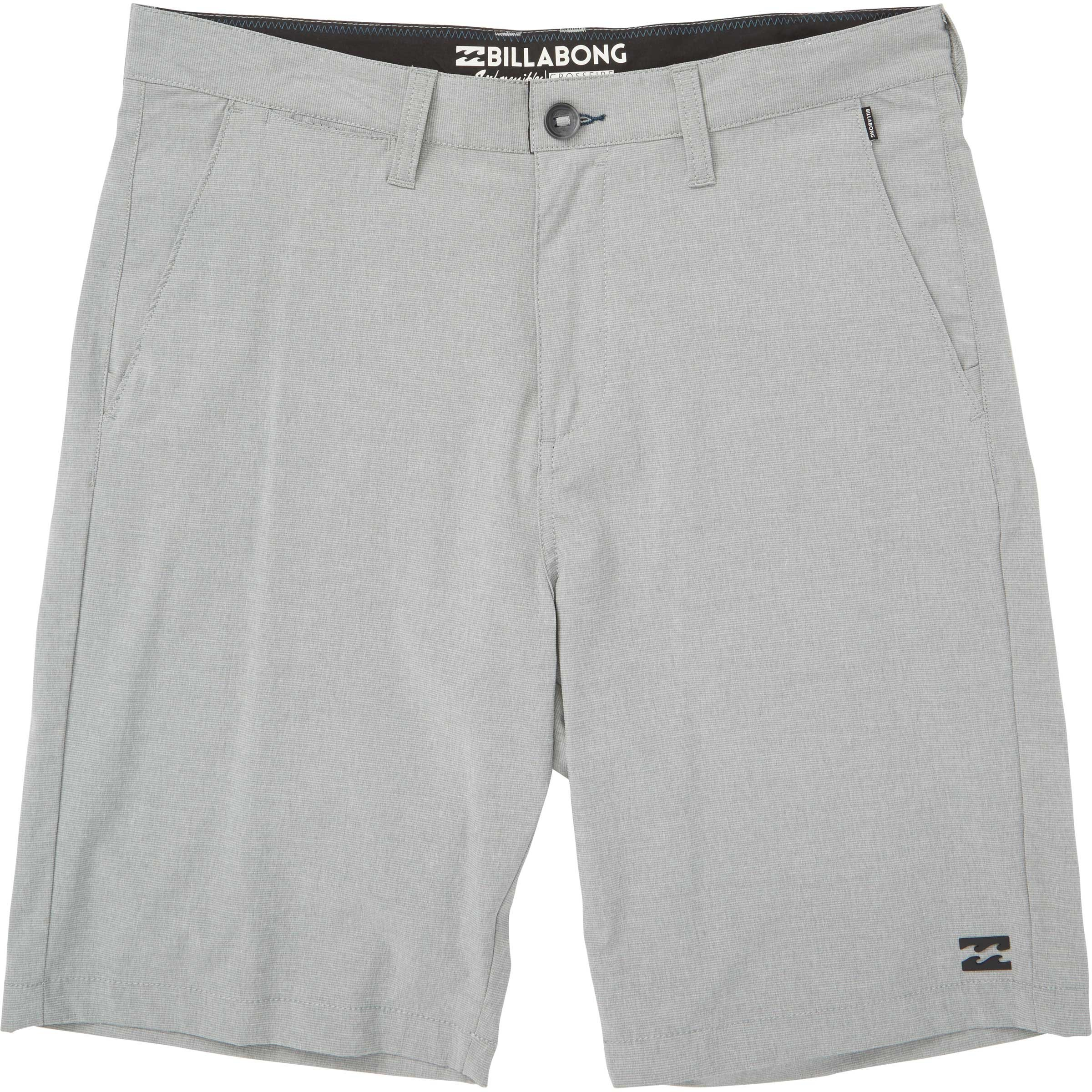 Billabong Men's Crossfire X Walkshort, Grey, 32