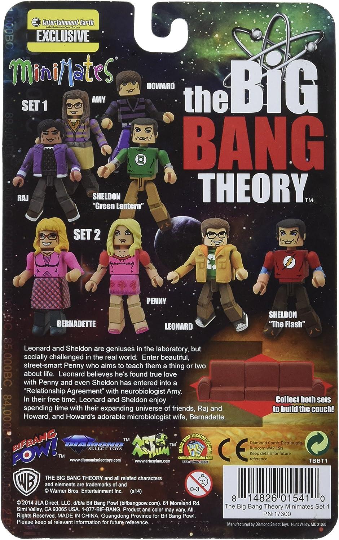 "Big Bang théorie Minimates # 1 Rajesh /""RAJ/"" Koothrappali"