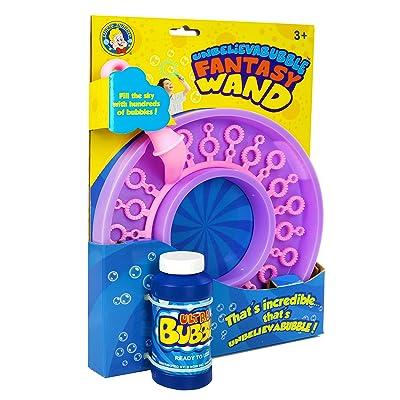 Uncle Bubble Unbelievabubble Fantasy Wand: Toys & Games