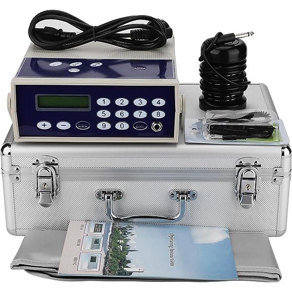 Wandisy 𝐂𝒚𝐛𝐞𝐫 𝐌𝐨𝐧𝐝𝐚𝒚 Sistema de desintoxicación de baño de pies iónico - Máquina de desintoxicación Corporal Matriz de Iones Baño de pies SPA Limpieza Desintoxicación de cinturón: Amazon.es: Hogar