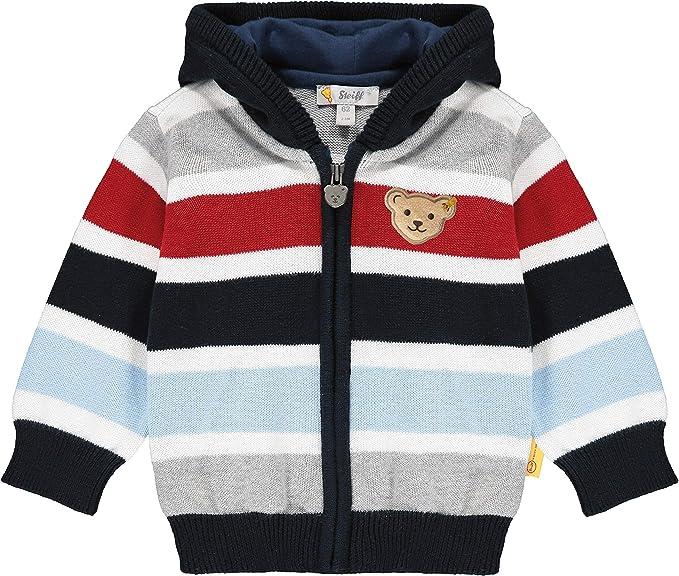 Steiff Baby-Jungen Mit S/ü/ßer teddyb/ärapplikation Jacke