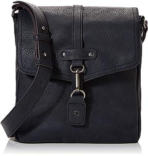Tamaris Damen Bernadette Crossbody Bag Umhängetasche, Braun