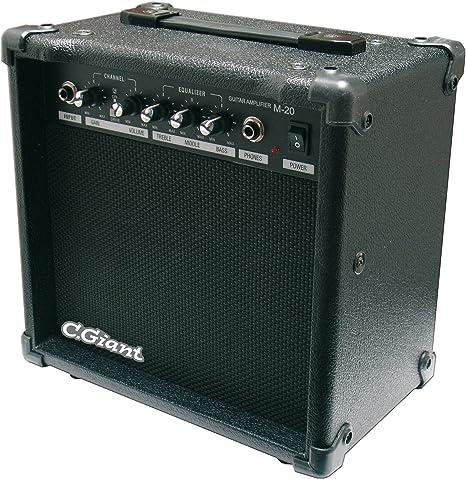 C. GIANT Guitarra Amplificador M de 20 a034344: Amazon.es ...