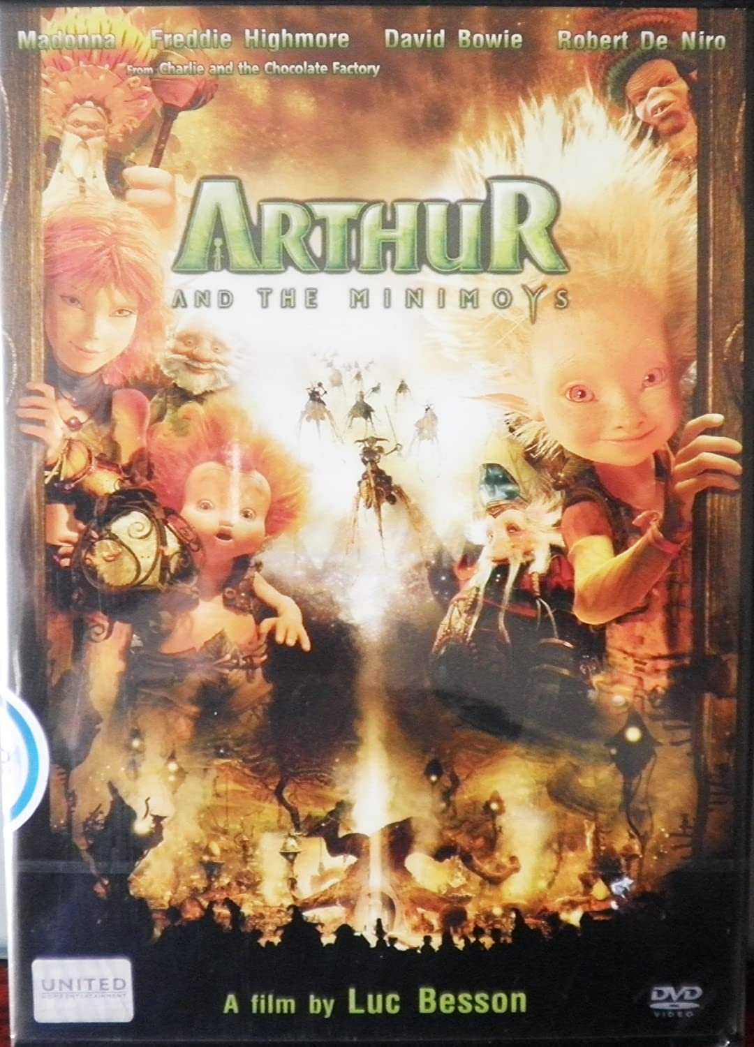 Amazon Com Arthur And The Invisibles Minimoys 2006 Freddie Highmore Mia Farrow Madonna Luc Besson Movies Tv