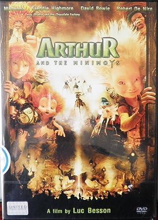 Amazon Com Arthur And The Invisibles Minimoys 2006 Freddie Highmore Mia Farrow Madonna Luc Besson Movies Tv