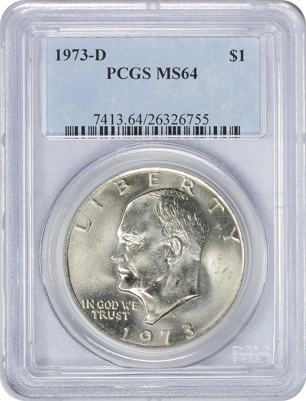 "1974-D /""Ike/"" Eisenhower Dollar PCGS MS64!"