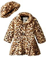 Widgeon Little Girls' Twirl Bottom Coat with Hat