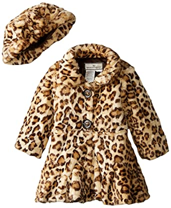 2f940fa28d98 Amazon.com: Widgeon Little Girls' Twirl Bottom Coat with Hat: Clothing