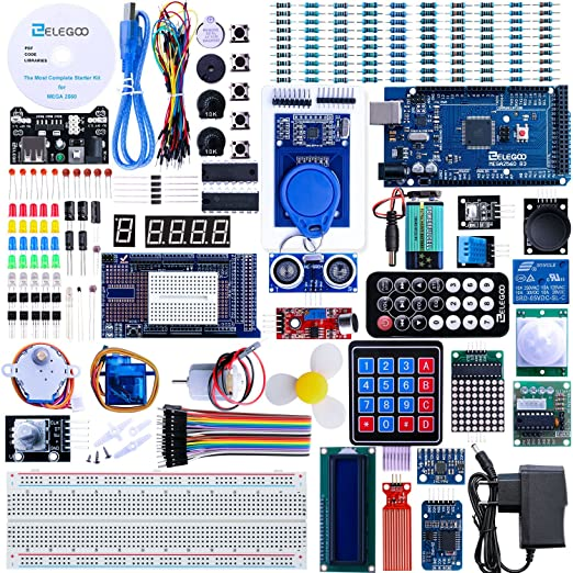 58 opinioni per Elegoo MEGA2560 R3 Progetto Lo Starter Kit Piu Completo con Tutorial Italiano