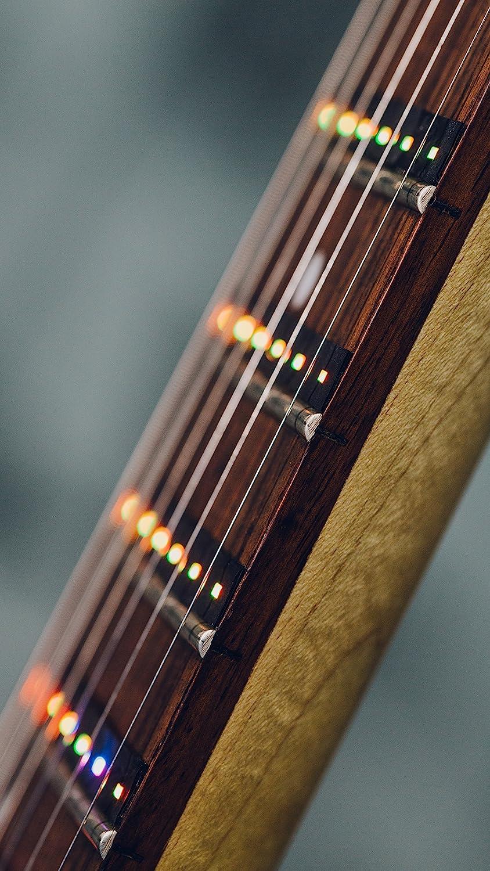 Fret Zealot Accesorio de aprendizaje guiado de guitarra para todas las guitarras estándar con iOS y aplicaciones de Android (Mejor método para aprender a ...