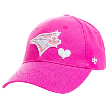 competitive price 37601 cb62a coupon toronto blue jays youth sugar sweet cap pink size one size baseball  caps amazon canada