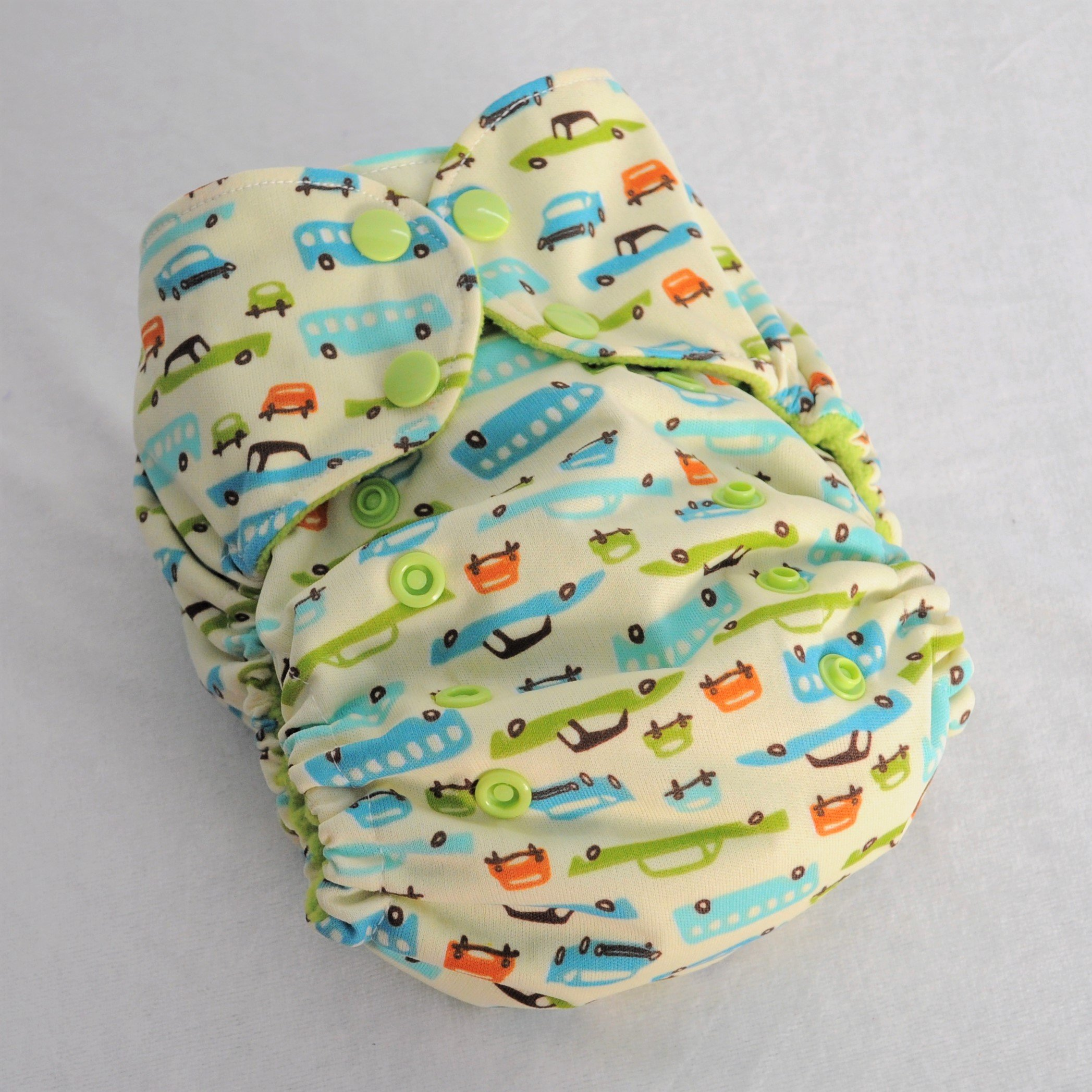 Cars - Pocket Diaper - One Size Fits Most - 8 to 40 pounds - TheCraftEGal