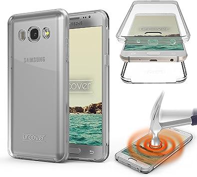 Urcover Funda Compatible con Samsung Galaxy J5 2016 Carcasa ...