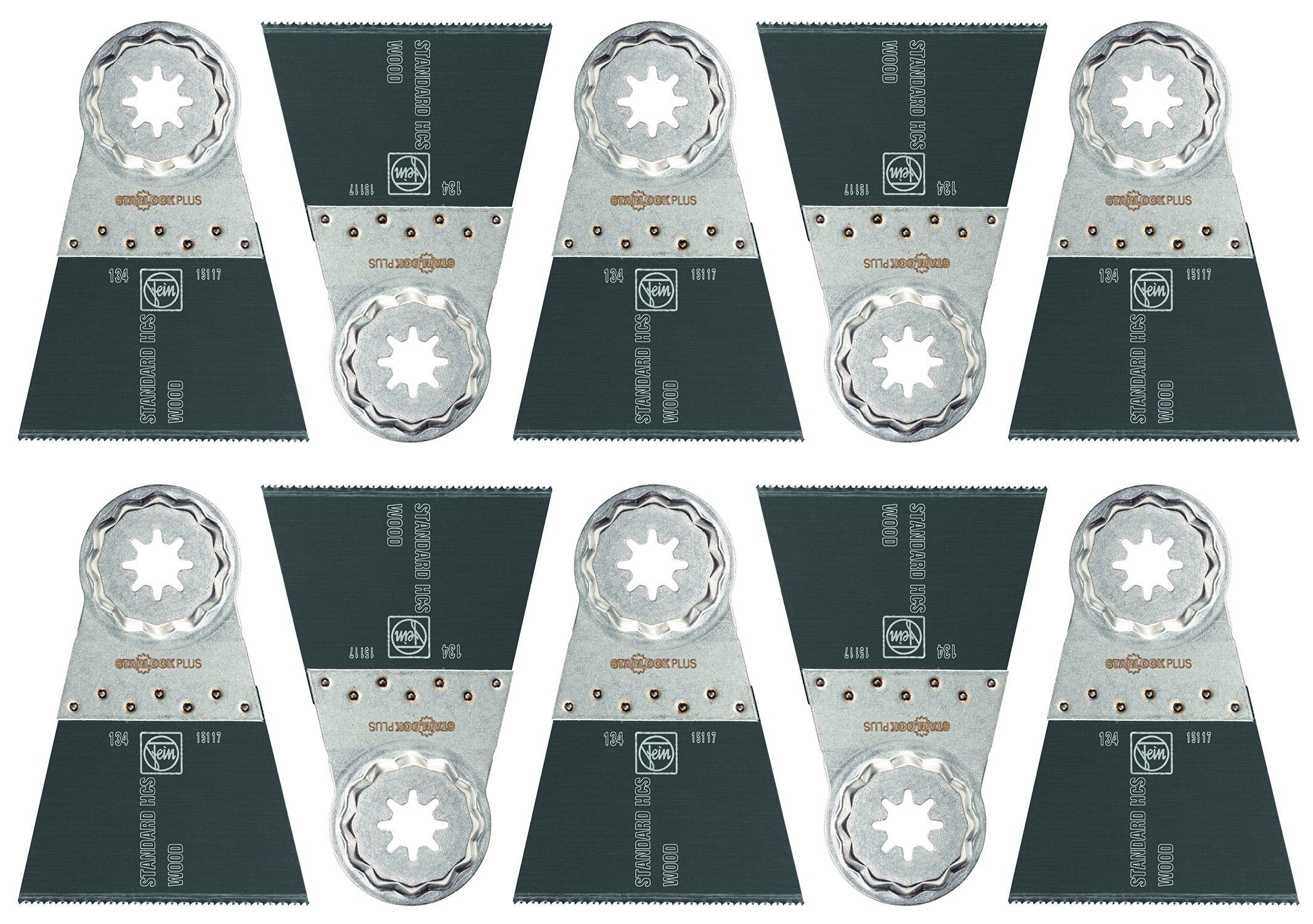 Fein 63502134290  Standard Oscillating Blade (10 Pack), 2-9/16 x 2'' by Fein