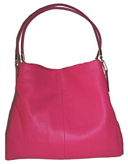 coach phoebe shoulder bag in pebbled leather up rh lcpowerbuy com